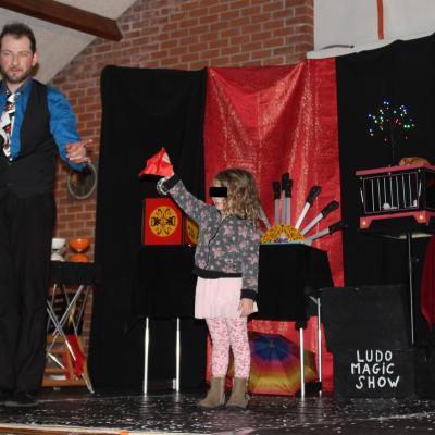 Ludo Magic Show a fait participé les enfants