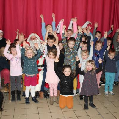 Le Père Noël et les enfants