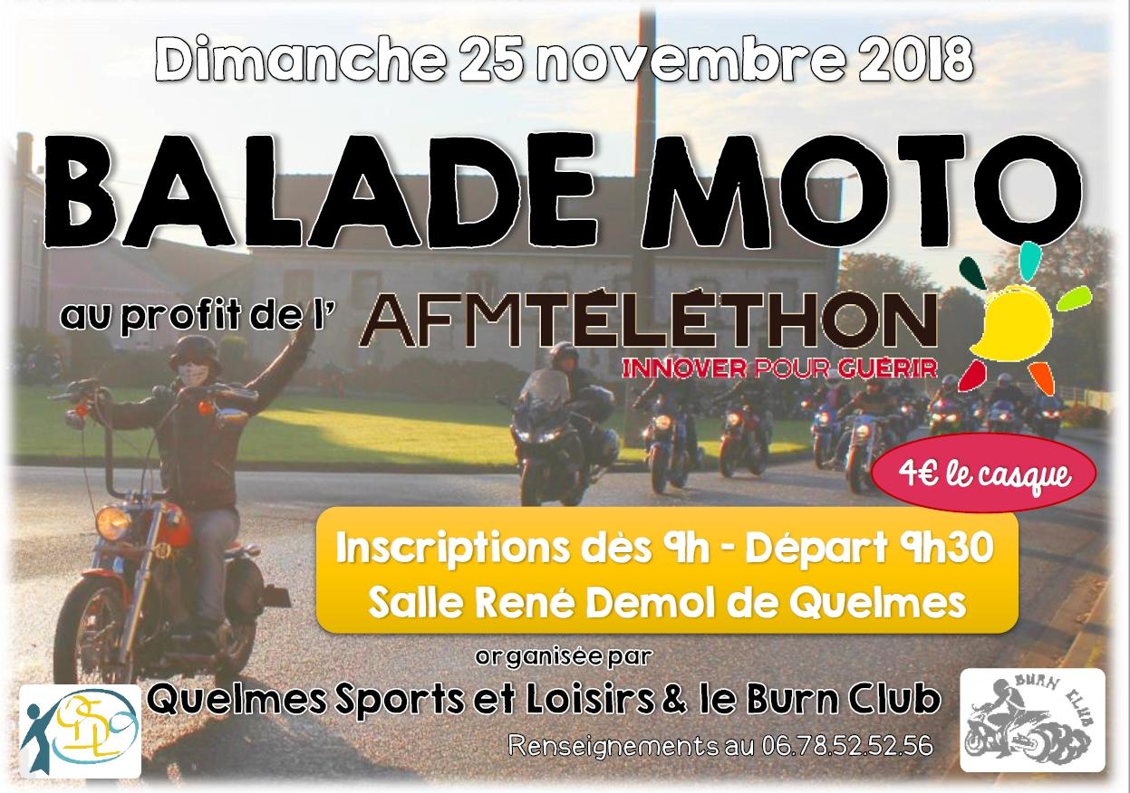 Balade moto 2018